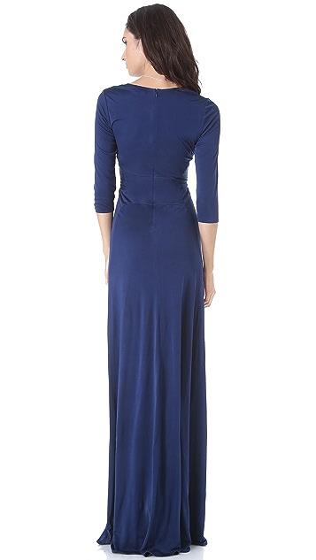 ISSA Long Kimono Gown