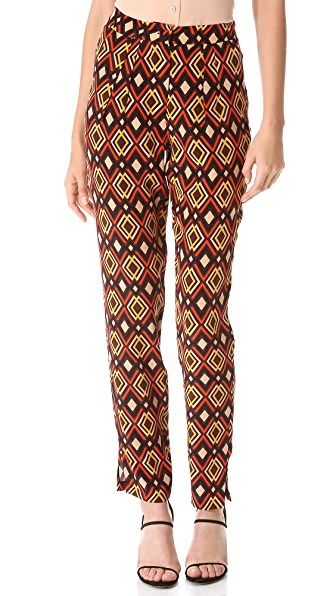 ISSA Print Trousers