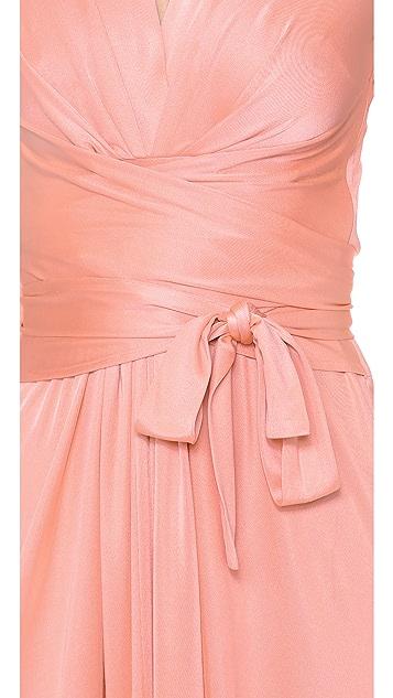 ISSA Tie Front Dress