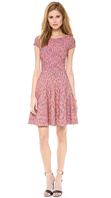 ISSA Space Dye Rayon Rib Dress