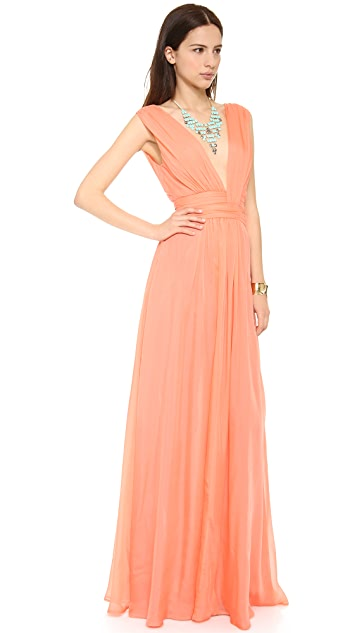 ISSA Chiffon Gown