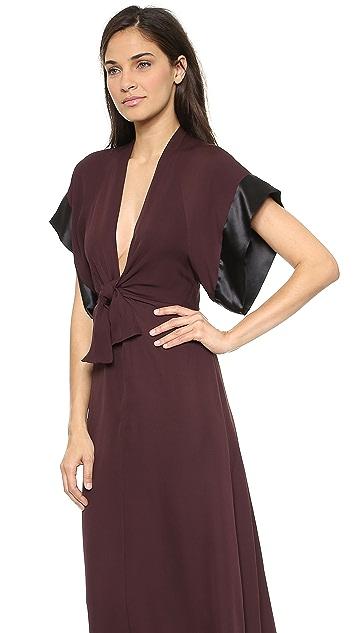 ISSA Polly Short Sleeve Dress