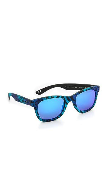 Italia Independent Zebra Sunglasses