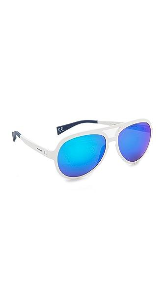 Italia Independent Sporty Style Aviator Sunglasses