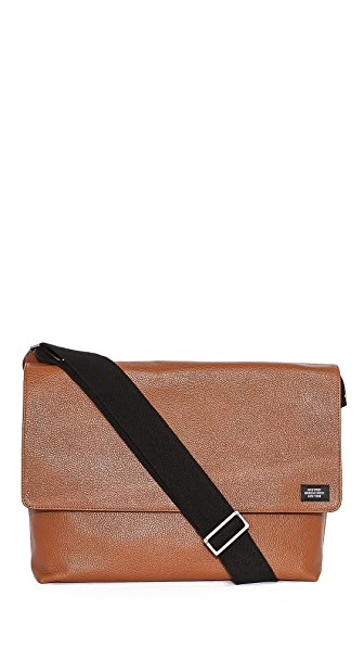 Jack Spade Mason Leather Messenger Bag
