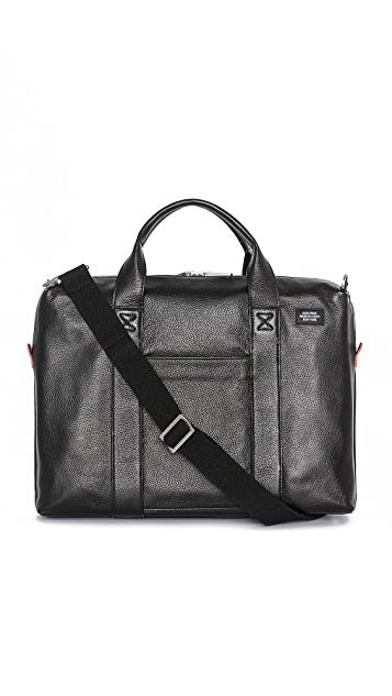 Jack Spade Mason Leather Davis Briefcase