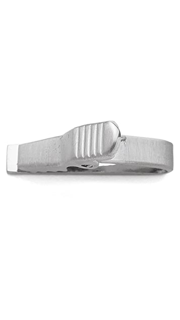Jack Spade Mother of Pearl Inlay Tie Clip