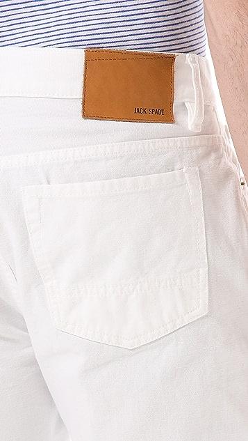 Jack Spade Brantley 5 Pocket Jeans