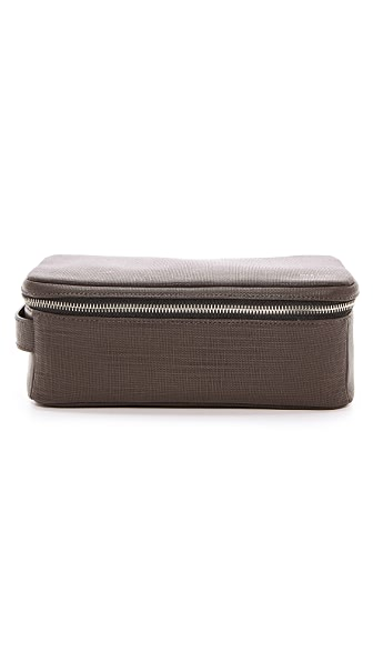 Jack Spade Leather Travel Kit