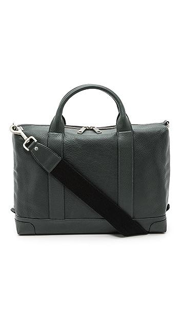 Jack Spade Bristol Leather Charter Briefcase