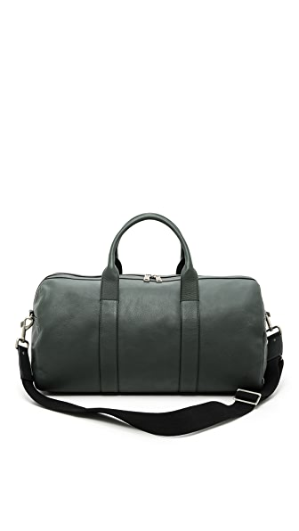 Jack Spade Bristol Leather Barrel  Duffel