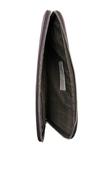 Jack Spade Dipped Leather Portfolio