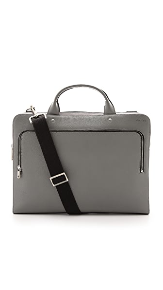 Jack Spade Grant Leather File Briefcase