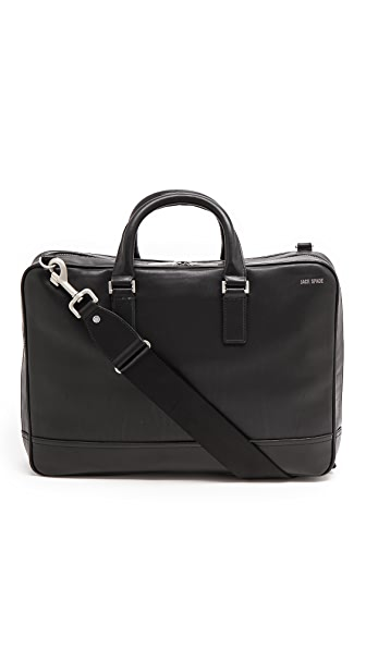 Jack Spade Fulton Leather Darrow Briefcase