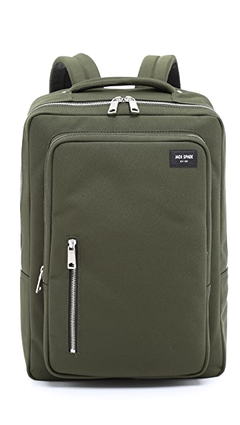 Jack Spade Commuter Nylon Cargo Backpack
