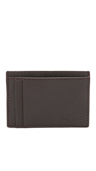 Jack Spade Barrow Leather ID Wallet