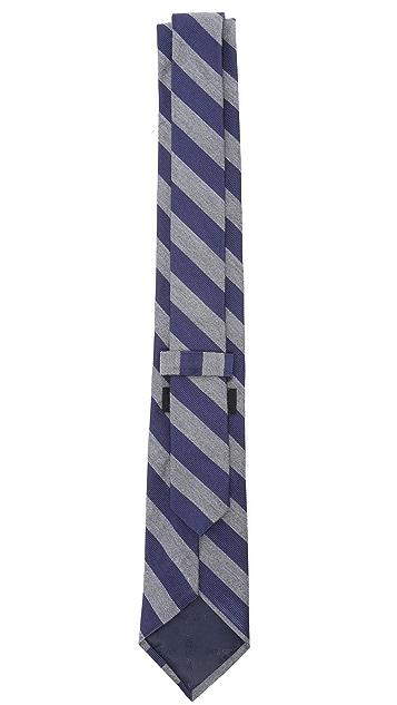 Jack Spade Twill Stripe Tie