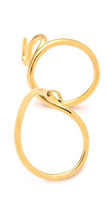 Jacquie Aiche JA New Snake Knuckle Ring