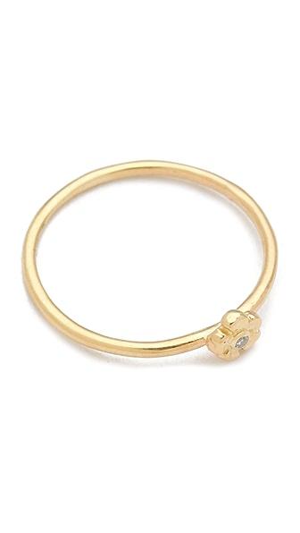 Jacquie Aiche JA Diamond Flower Ring