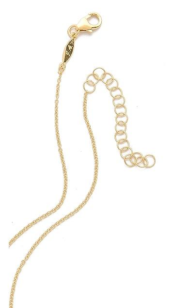 Jacquie Aiche JA CZ Mini Bar Necklace