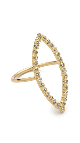 Jacquie Aiche JA Marquis Shaped Ring