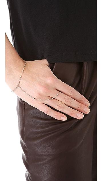 Jacquie Aiche JA Vintage Chain Finger Bracelet