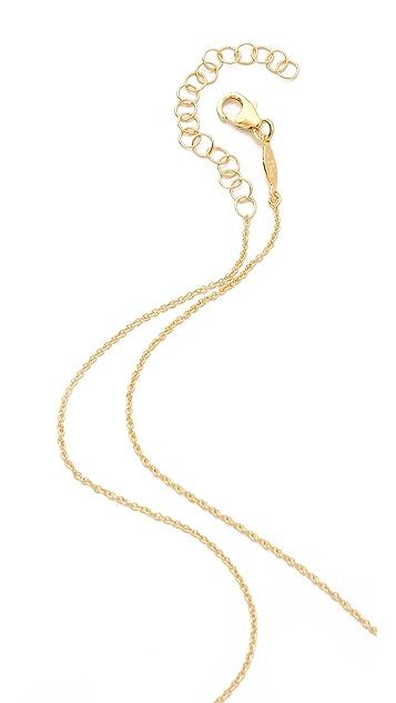 Jacquie Aiche JA Pave Mini Bar Necklace