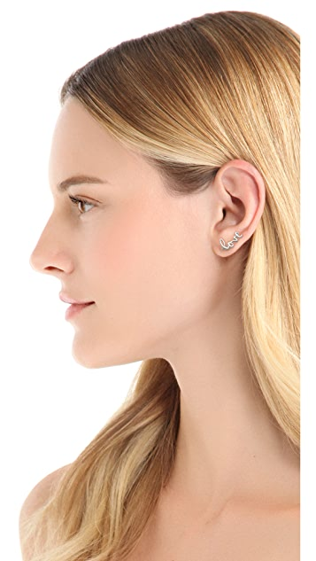 Jacquie Aiche JA Love Ear Cuff