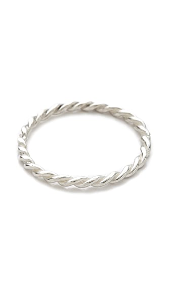 Jacquie Aiche JA Twisted Mini Waif Topper Ring