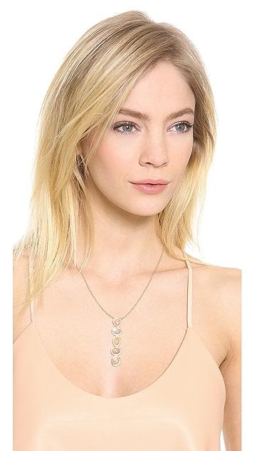 Jacquie Aiche Freeform Bezel Knuckle Necklace