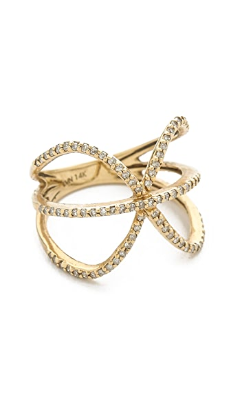 Jacquie Aiche Crossover X Eternity Ring
