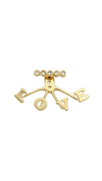 Jacquie Aiche Love Ear Jacket