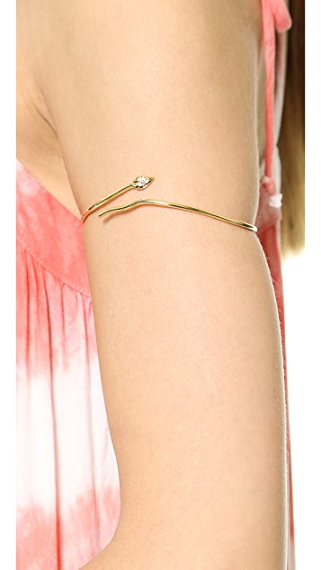 Jacquie Aiche JA Snake Wrap Arm Band