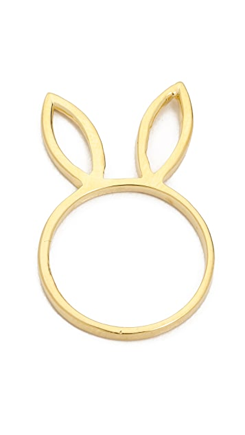 Jacquie Aiche JA Bunny Ears Ring
