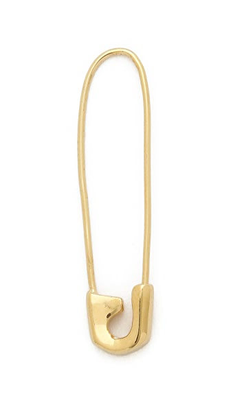 Jacquie Aiche JA Saftey Pin Earring