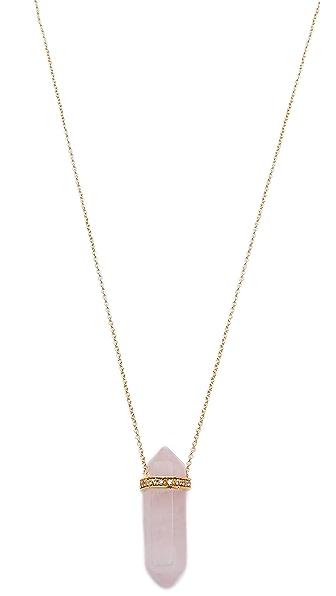 Jacquie Aiche Crystal Necklace