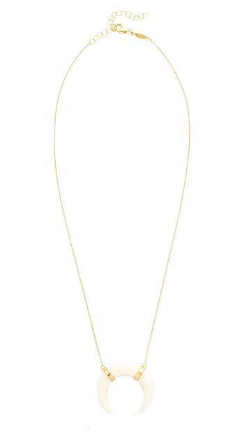 Jacquie Aiche JA Double Bone Horn Necklace