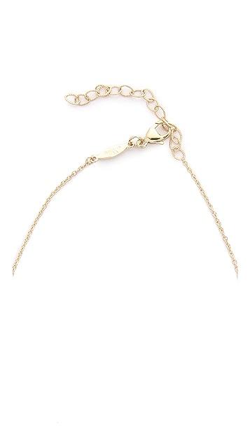 Jacquie Aiche Crescent Necklace