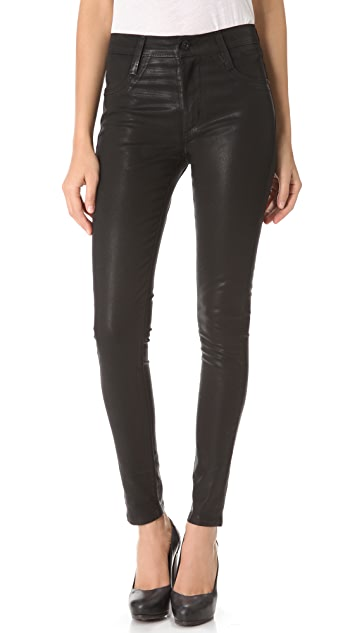 James Jeans Twiggy High Class Coated Jeans
