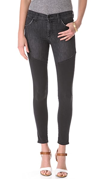 James Jeans Twiggy Faux Boot Legging Jeans