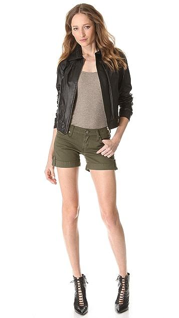 James Jeans Vicky Cuffed Safari Shorts
