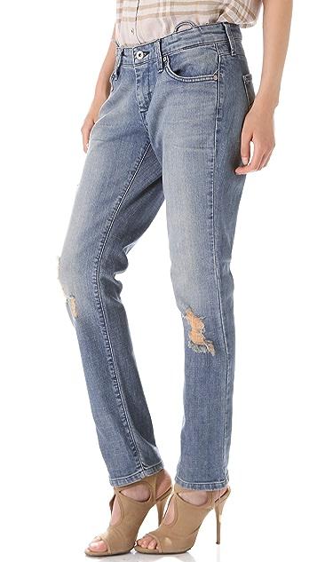 James Jeans Jojo Slouchy Suspender Trouser Jeans