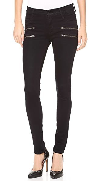 James Jeans Crux Skinny Jeans with Double Zip | SHOPBOP