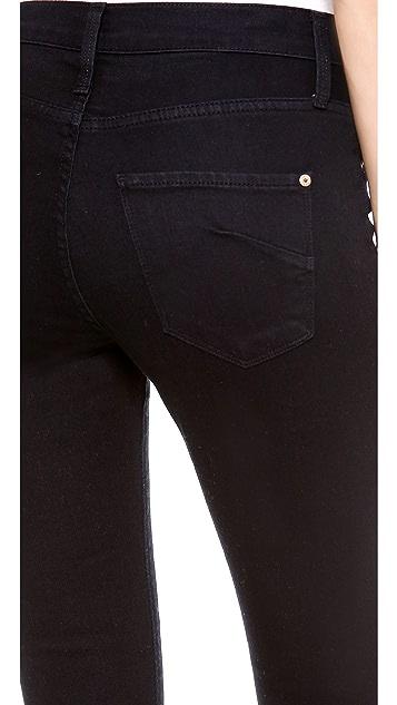 James Jeans Sophia High Rise Shorts