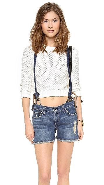 James Jeans Corky Suspender Boy Shorts
