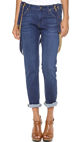 James Jeans Jojo Suspender Boyfriend Jeans