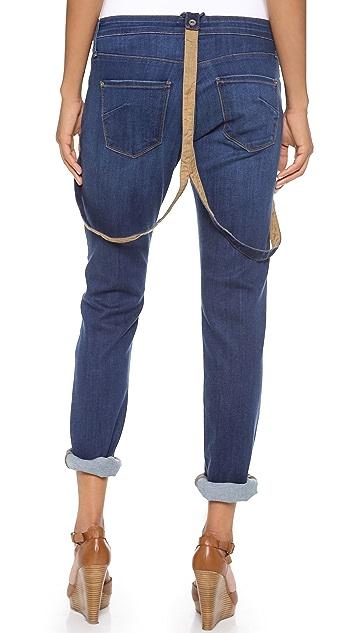 James Jeans Jojo Suspender Boyfriend Jeans