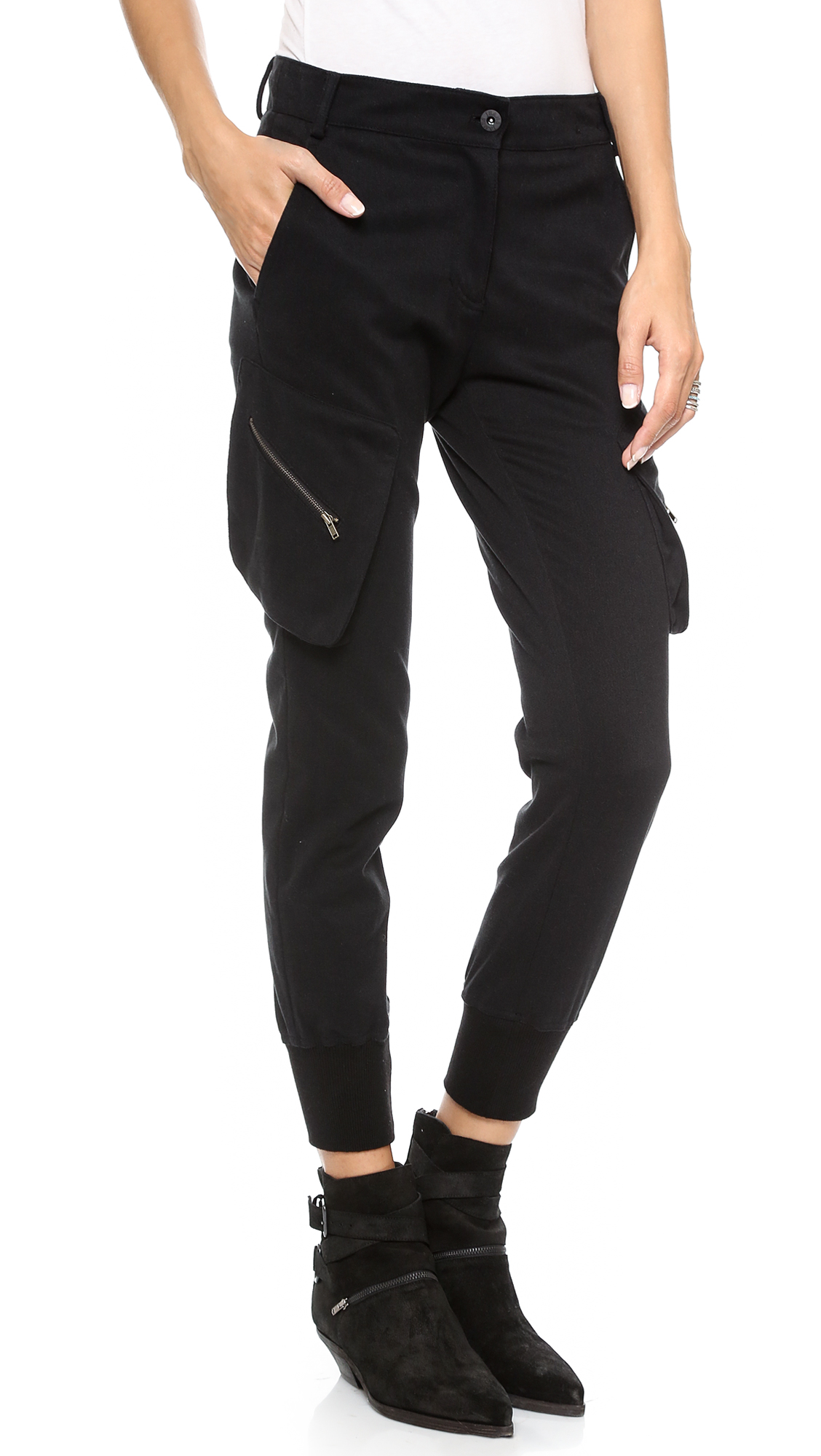 5afdd552485 James Jeans Slouchy Fit Utility Cargo Pants