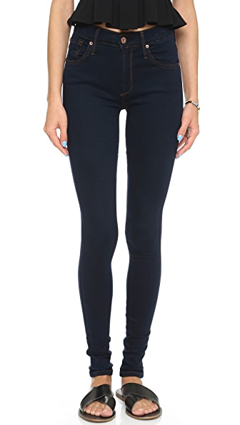 James Jeans Twiggy 5 Pocket Legging Jeans - 8767 Dark