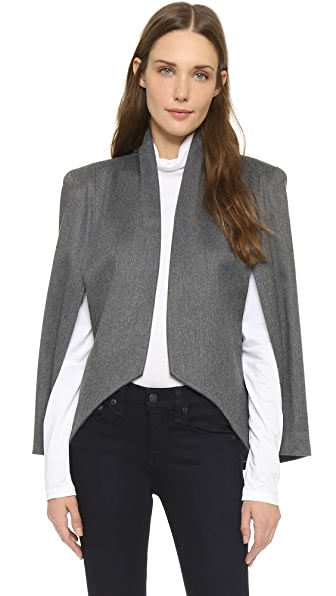 James Jeans Cape Sleeve Blazer